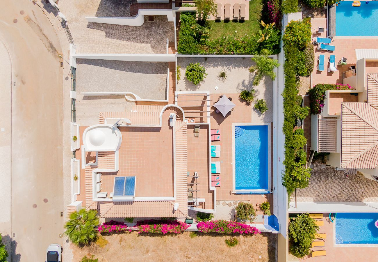 Villa in Lagos - Villa with free Wi-Fi | A/C | private pool [can be heated] | table tennis | fitness room | near the beach [RLAG83]