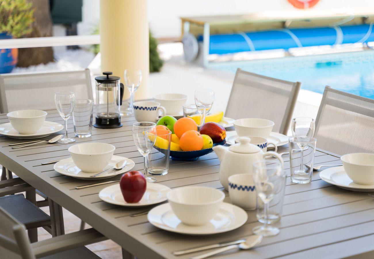 Villa in Lagos - Villa with free Wi-Fi | A/C | private pool [can be heated] | garden | near beach | sea view [RLAG95]