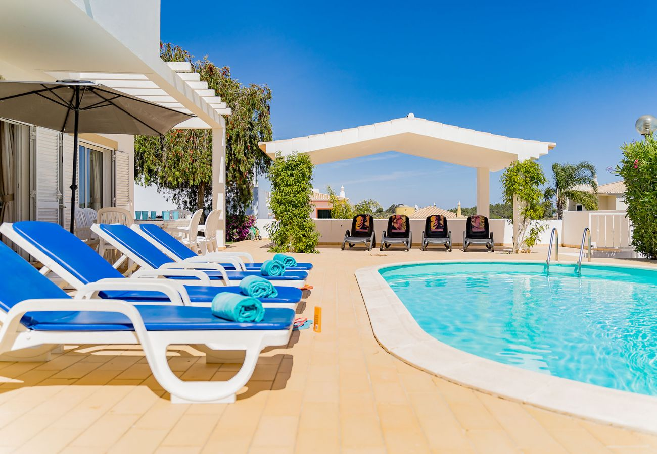 Villa in Lagos - Villa with Free Wi-Fi | A/C | Private Pool  [can be heated] | Garden | near Beach [RLAG101]