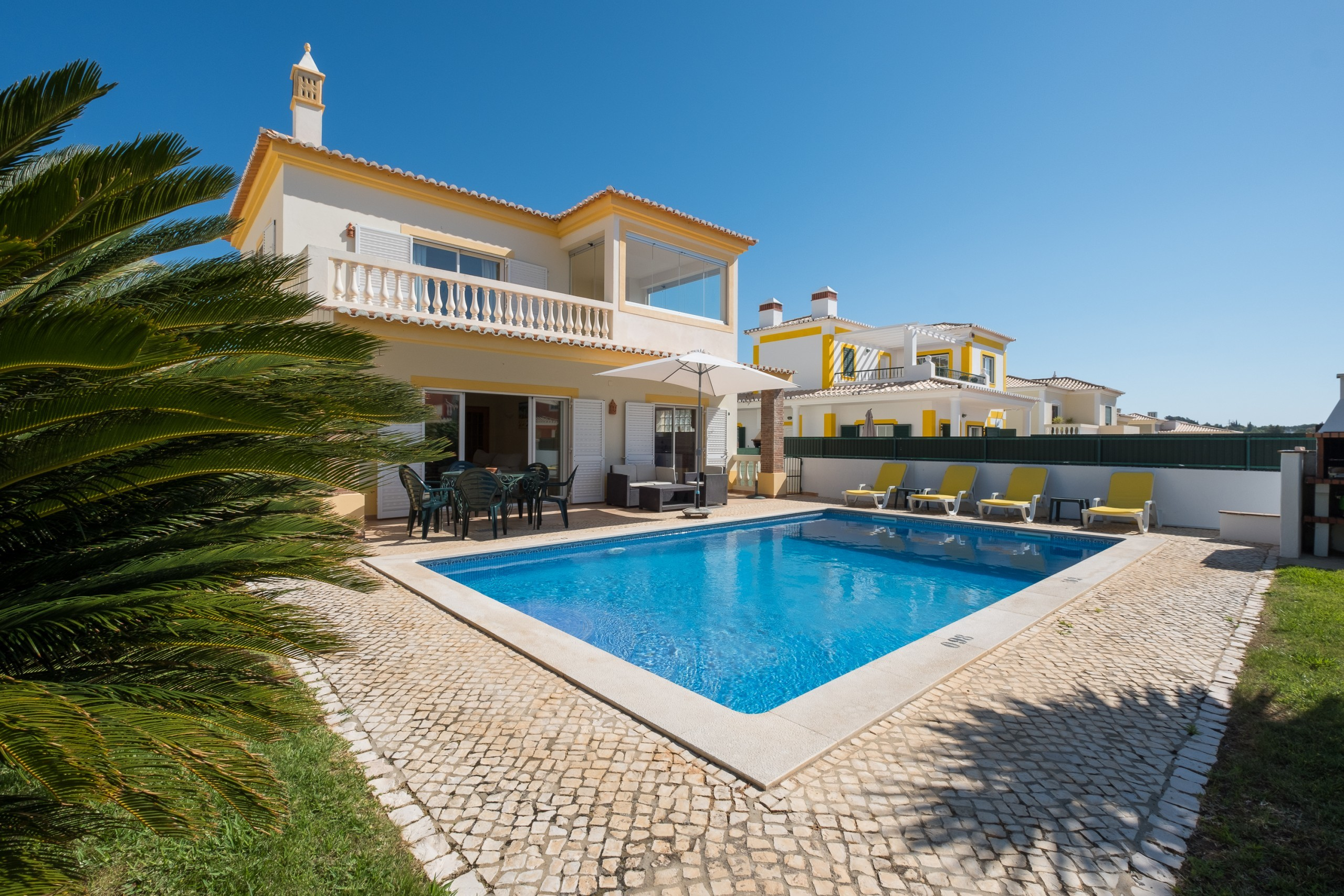 Villa/Dettached house in Lagos - Villa with free Wi-Fi   private pool [can be heated]   garden   near the Marina [RMEI28]