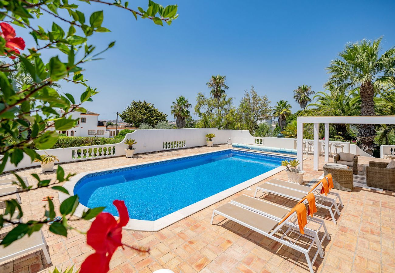 Villa in Lagos - Villa with free Wi-Fi | A/C | private pool [can be heated] | garden | near Marina | sea view [RLAG57]