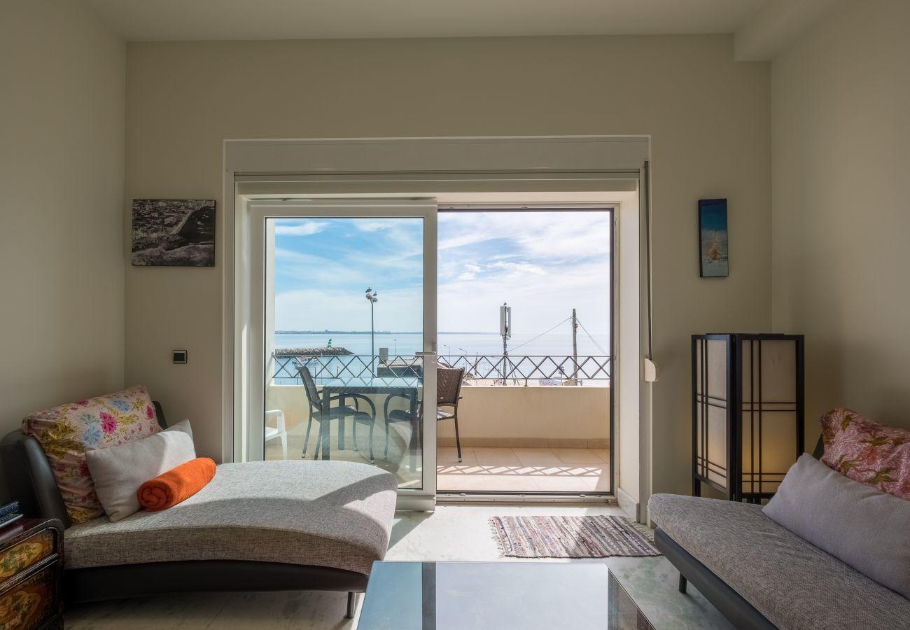 Apartment in Lagos - Apartment | High-Speed Internet | A/C | 50m From Beach | Sea View [RLAG60]