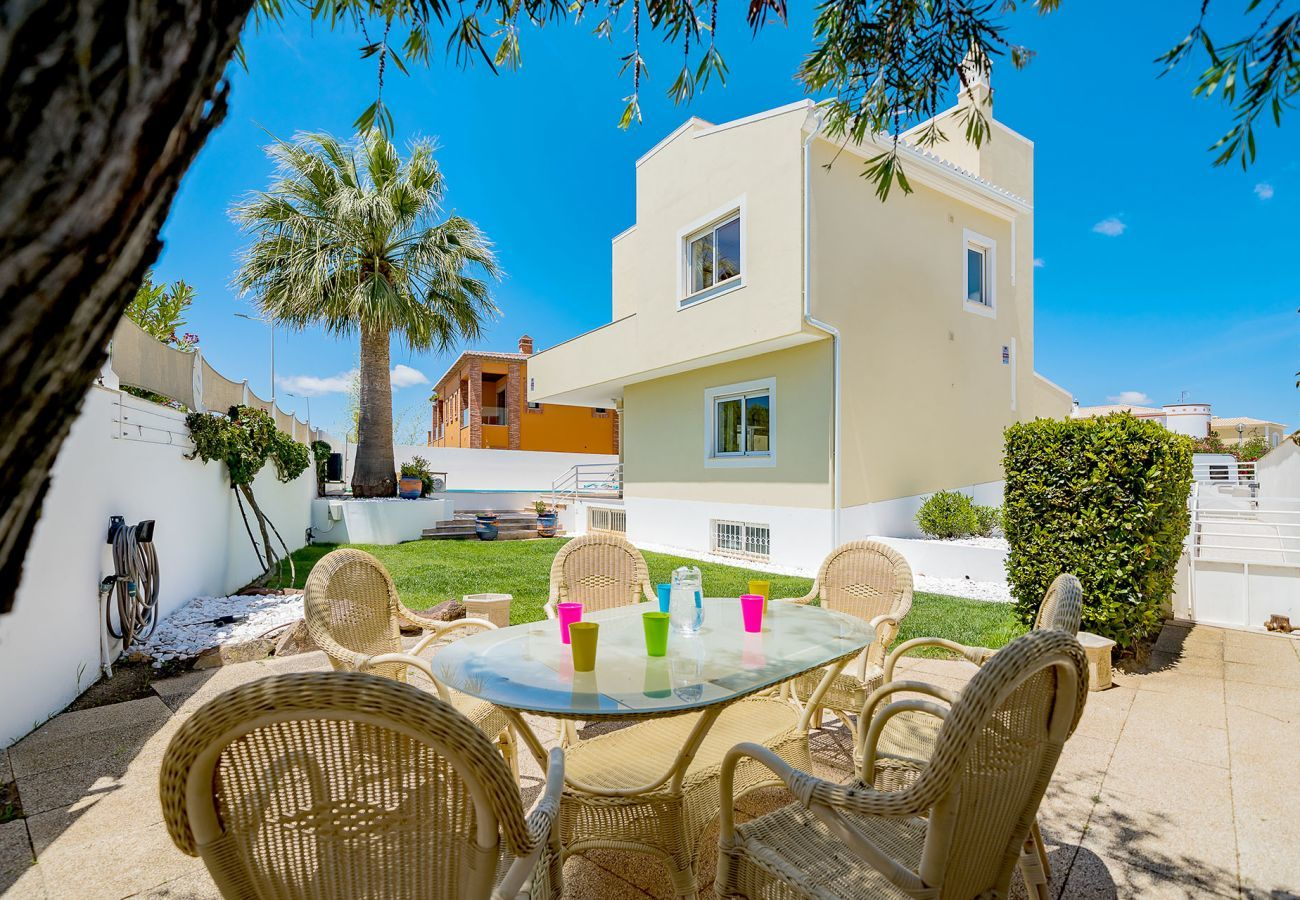 Villa in Lagos - Villa with free Wi-Fi | A/C | private pool [can be heated] | garden | near beach | sea view [RLAG95]