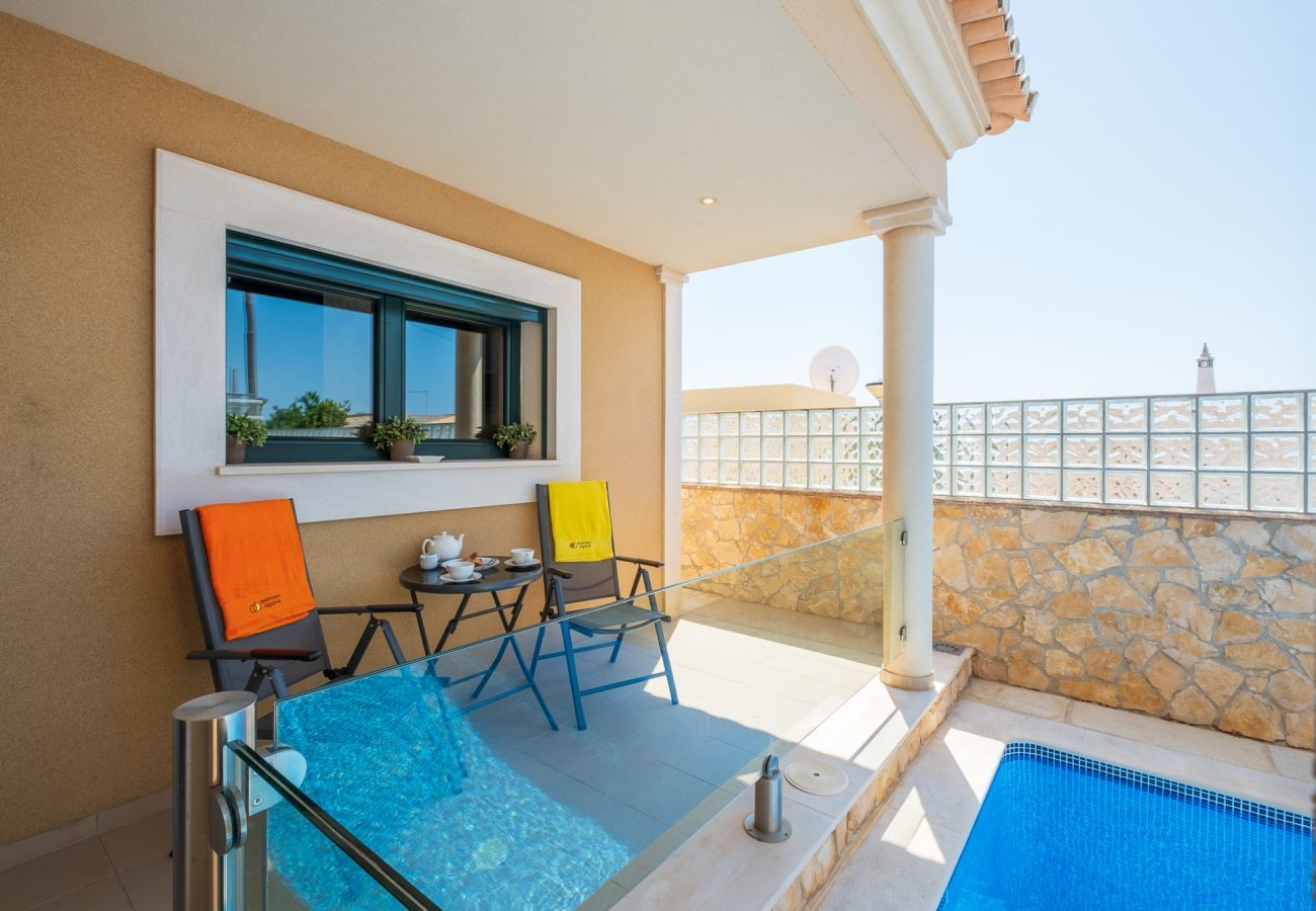 Villa in Luz - Villa   Wi-Fi   A/C   Private Pool   Near Beach & Town   Sea View [RLUZ25]